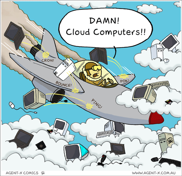 Cloud computing humor